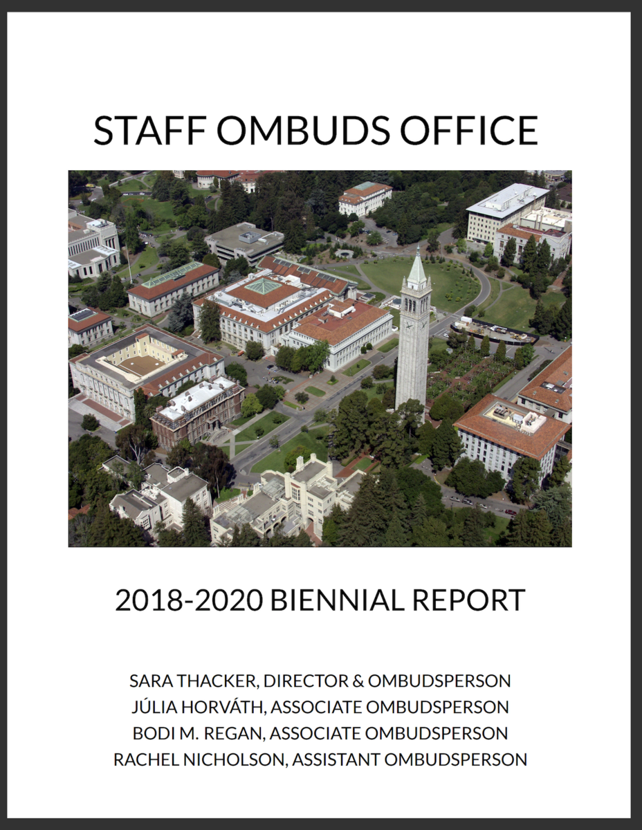 2018-2020 Biennial Report Cover Page